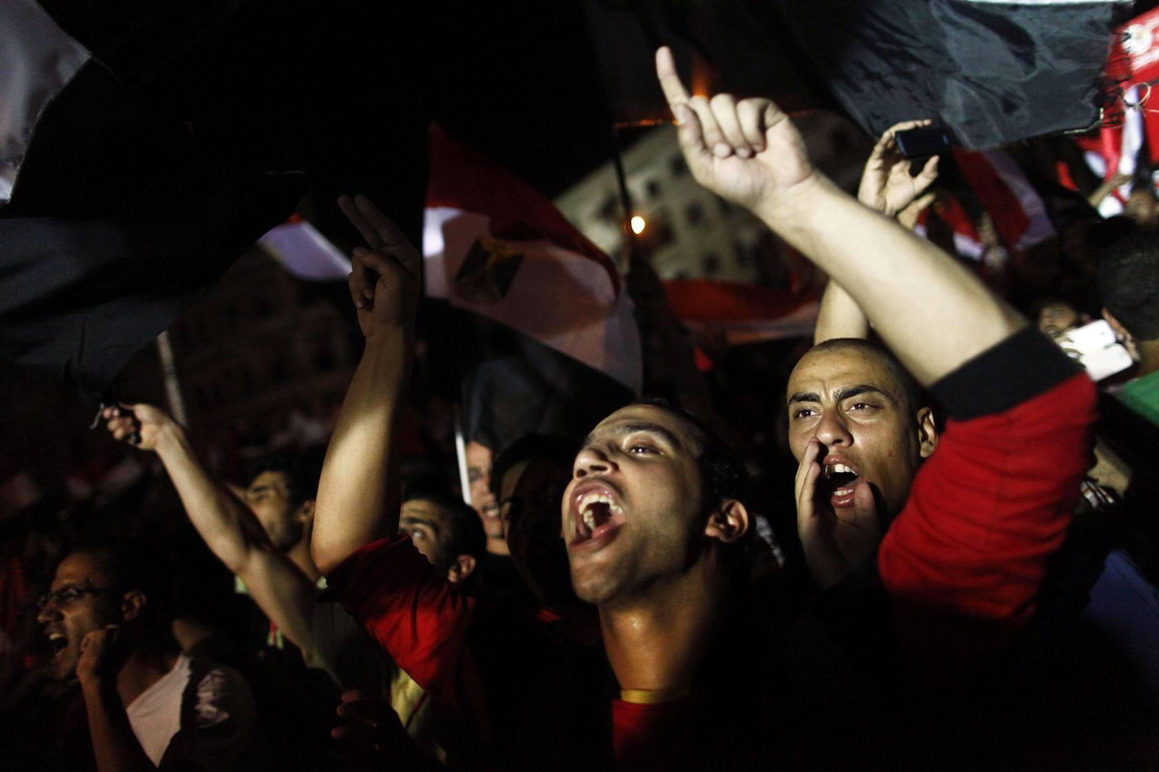 Un día de júbilo y violencia en Egipto