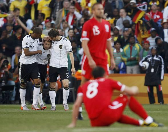 Alemania le gana el 'gran clásico' a Inglaterra