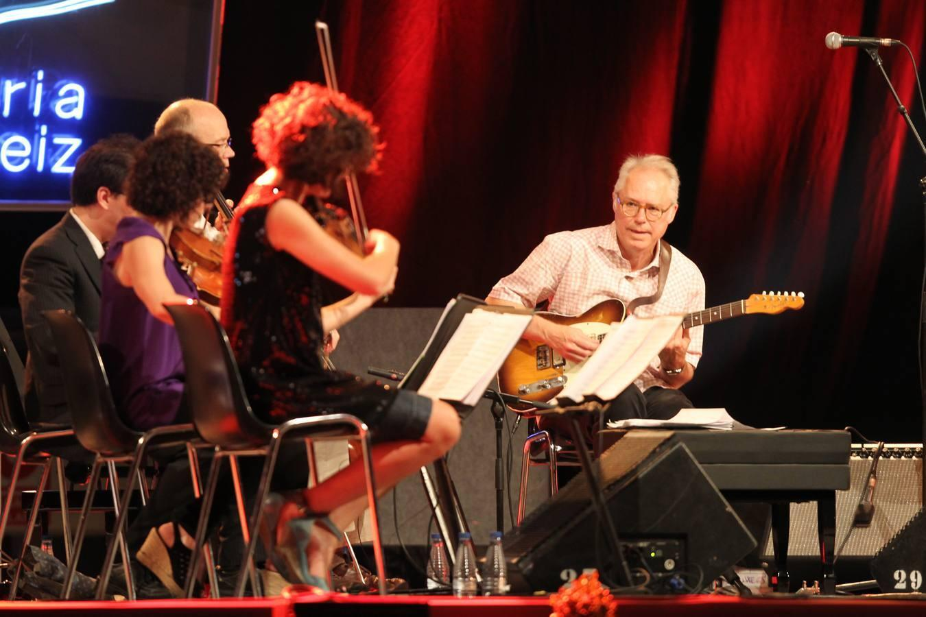 Ibrahim Maalouf y Bill Frisell en el Jazz de Vitoria
