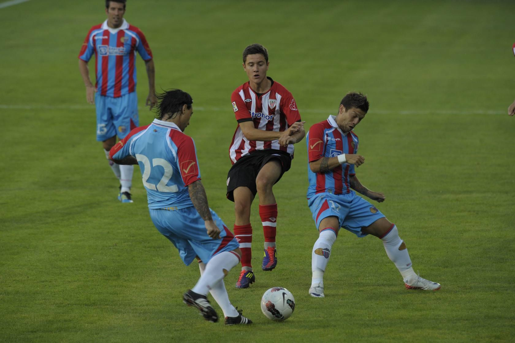 El Athletic Club gana 3-1 al Catania