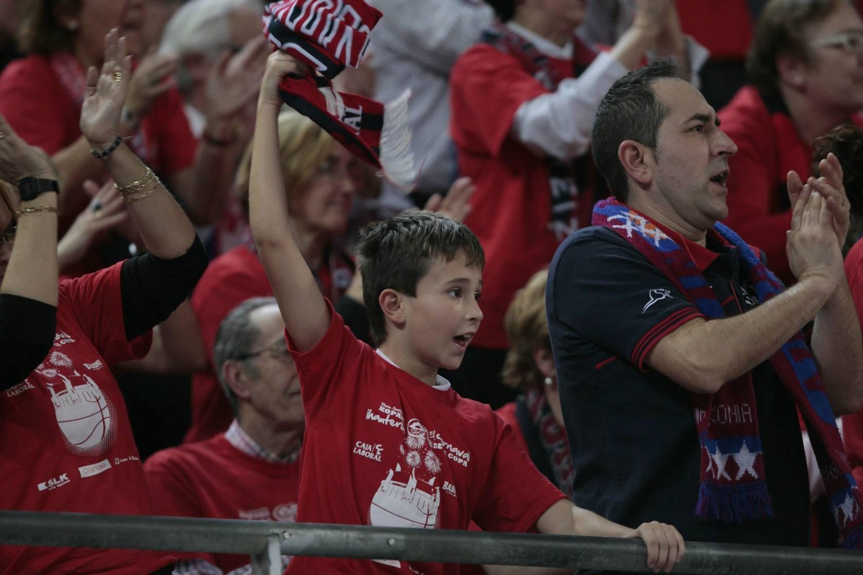El ambiente de la Copa del Rey de Vitoria 2013 en el primer día de competición