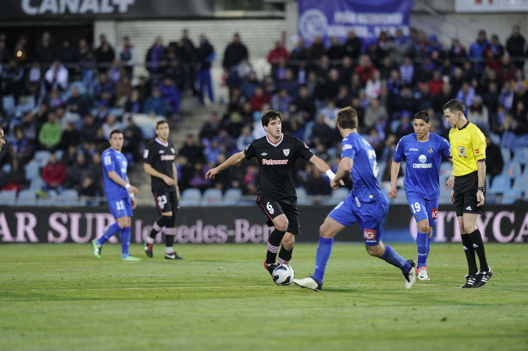 Getafe-Athletic, en im&aacute;genes
