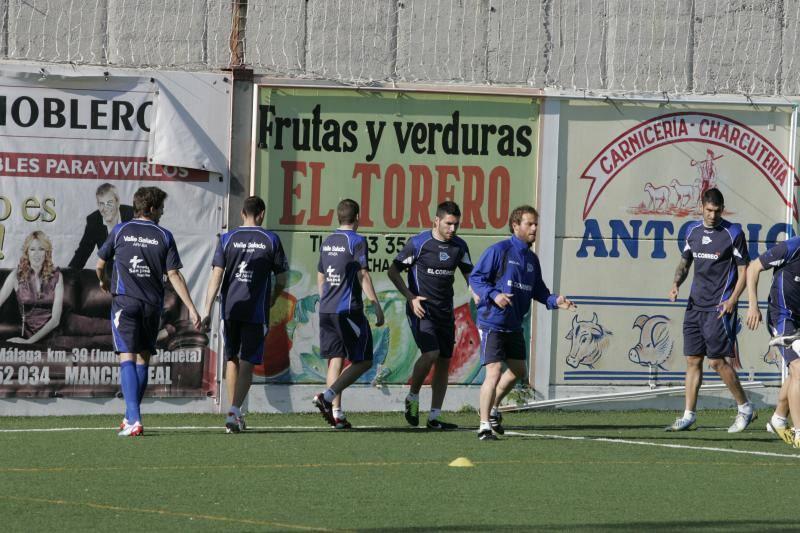 Fotos del entrenamiento del Alavés antes del play off