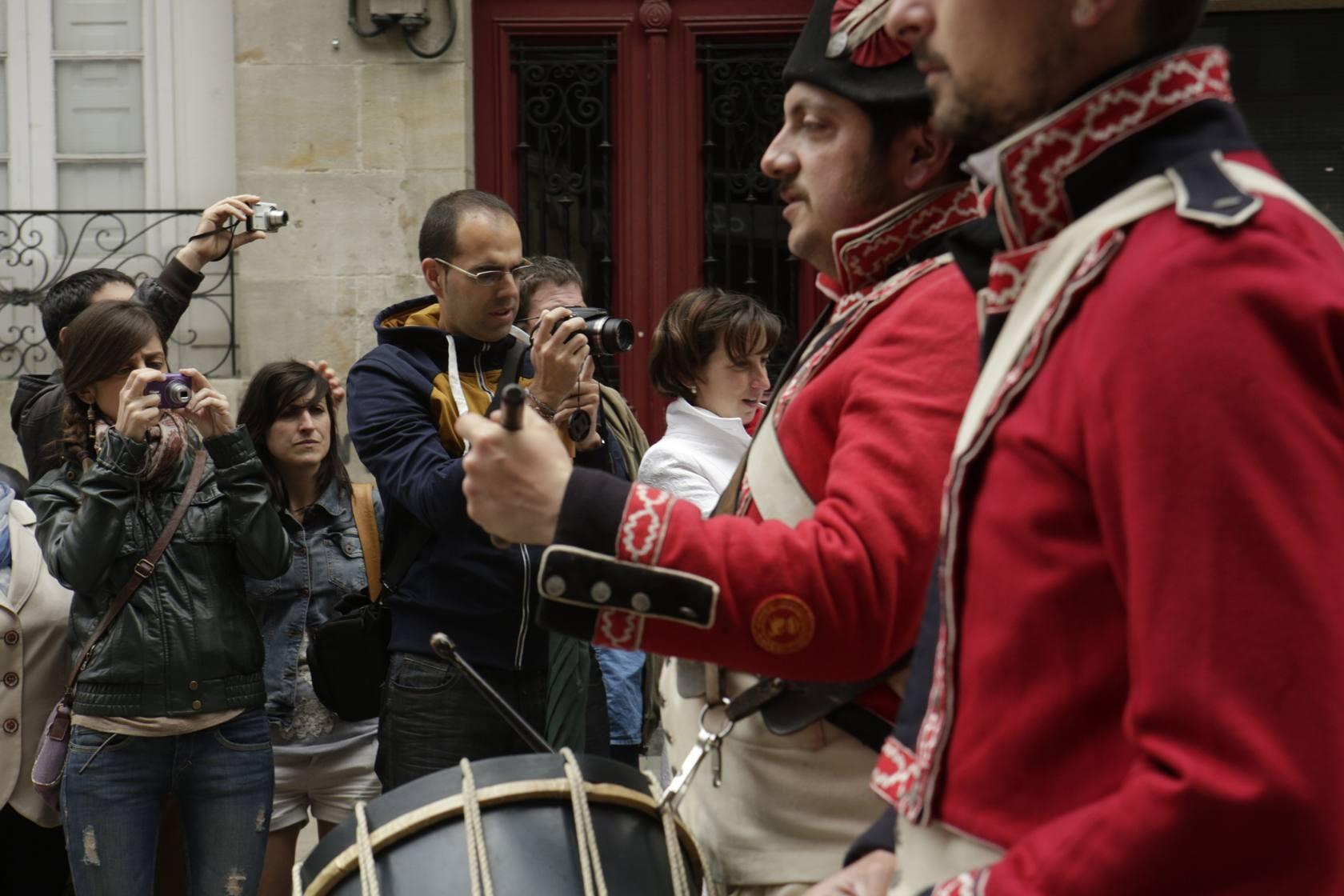 La ciudad pone fin al Bicentenario de la Batalla de Vitoria