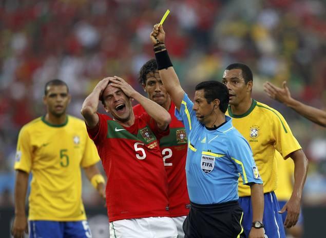 Portugal y Brasil se conforman con el empate
