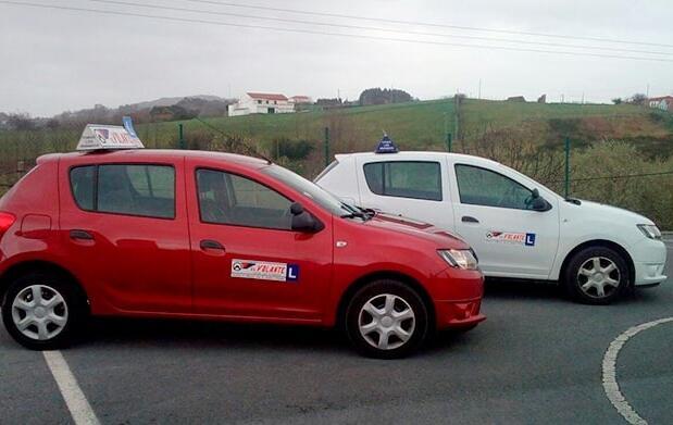 Carné de coche B con clases en Bilbao