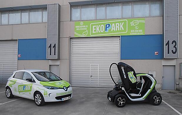 Nuevo parking low cost en el aeropuerto de Bilbao