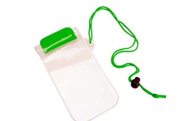 Funda transparente e impermeable de móvil