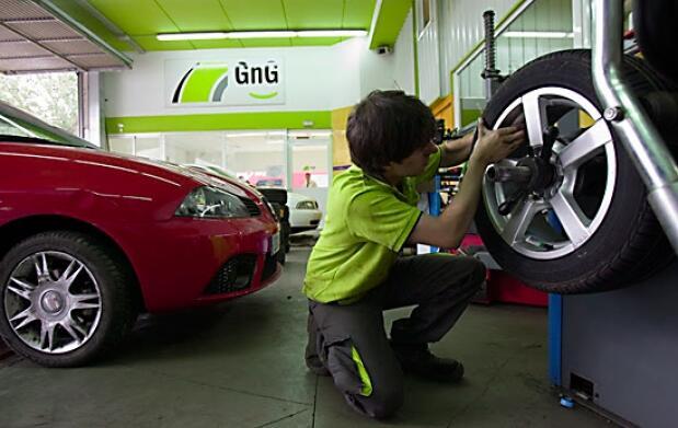 Cambio de neumáticos Good Year