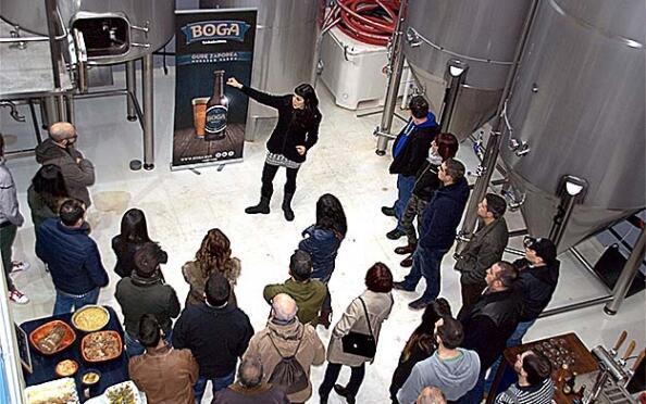 Beer bus Uribe+ visita guiada + cata, salidas Bilbao/Mungia