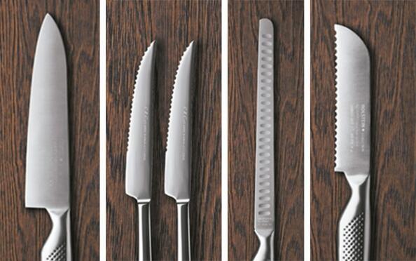 Cuchillos de acero inoxidable Holstein
