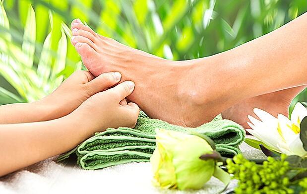 Masaje relajante de pies y/o espalda