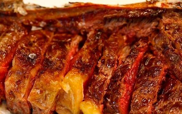 Menú txuleton en Bilbao