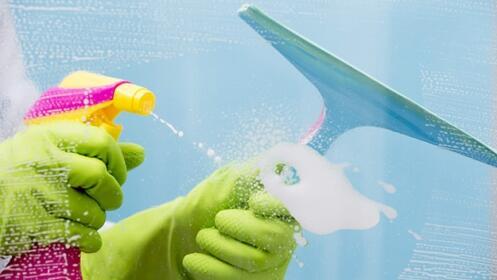 2 horas de limpieza de cristales
