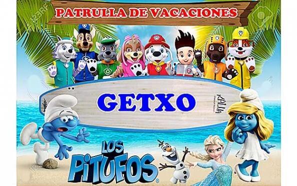 'La patrulla de vacaciones' en Getxo