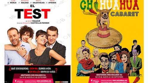 Teatro y zarzuela en Aste Nagusia