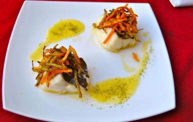 Exquisito menú en Asador Iturgitxi