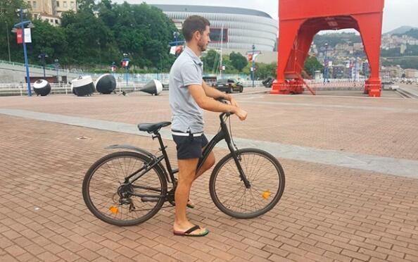 4 horas de alquiler de bicicleta con Bilbobentura