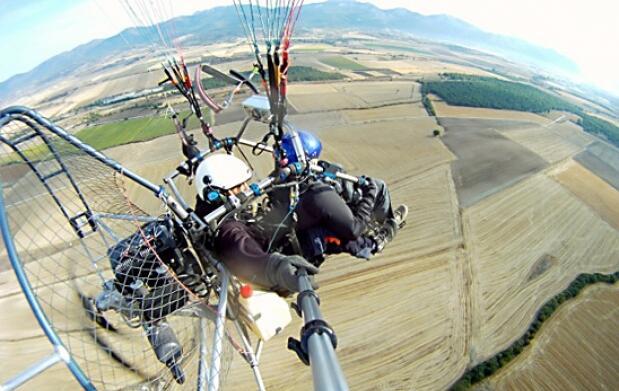 Vuelo en Trike-Parapente + Video