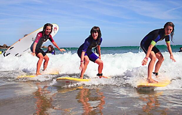 Campamento de surf en Bakio