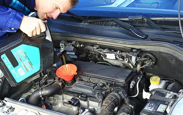 Revisión de mantenimiento del vehículo