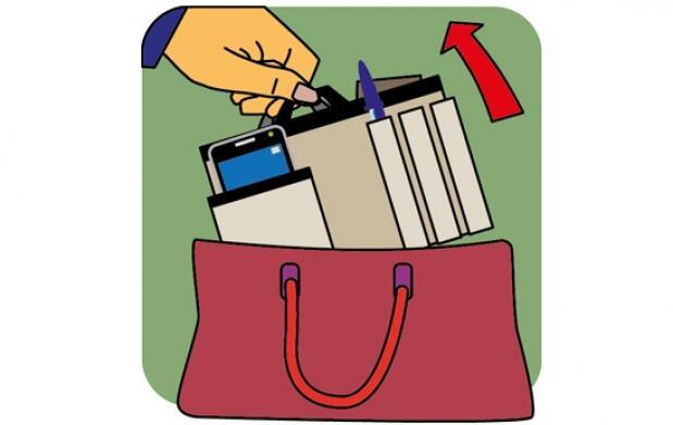 Organizador para tu bolso