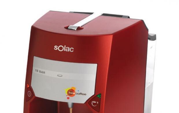Cafetera Espresso SOLAC monodosis
