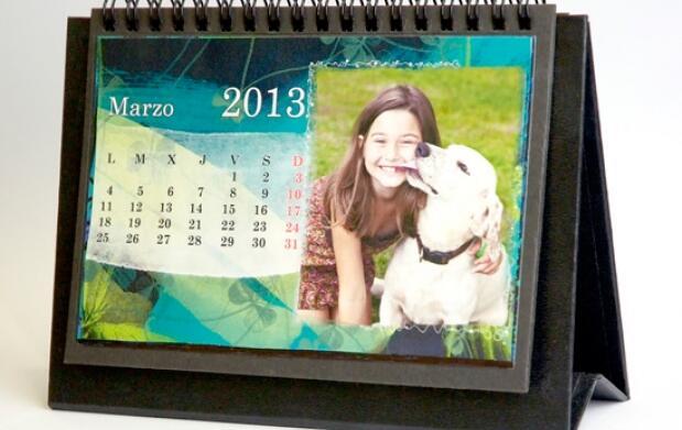 Calendario 2013 sobremesa personalizado