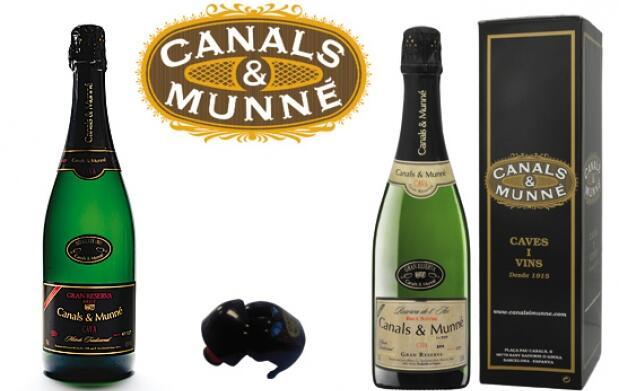 Celebra el 2014 con cava Canals - Munné