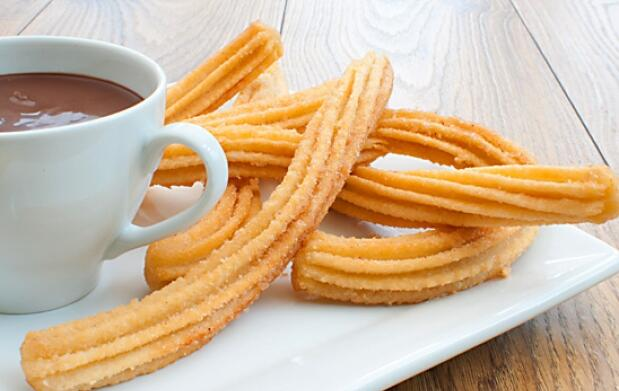 Docena de churros + 2 chocolates