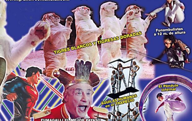 Entradas al Gran Circo Mundial