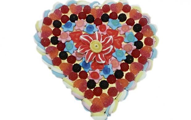 Tarta especial San Valentín