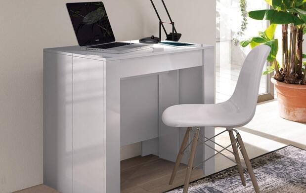 Consola o mesa hasta 10 en único mueble