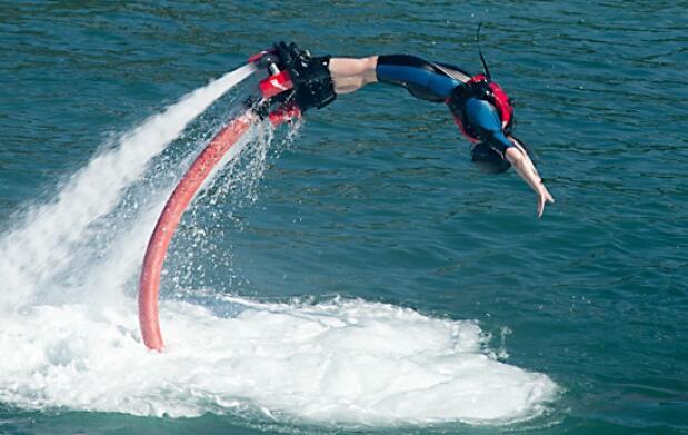 Flyboard en Lekeitio. El mar a tus pies