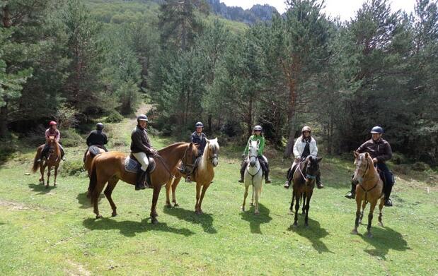 Paseo a Caballo (Valle de Valdegovía)