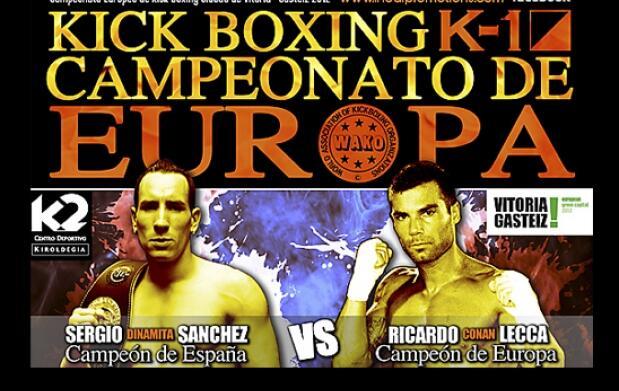 Campeonato Europa Kick Boxing 8 €