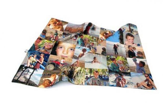 Manta personalizada con tus fotos