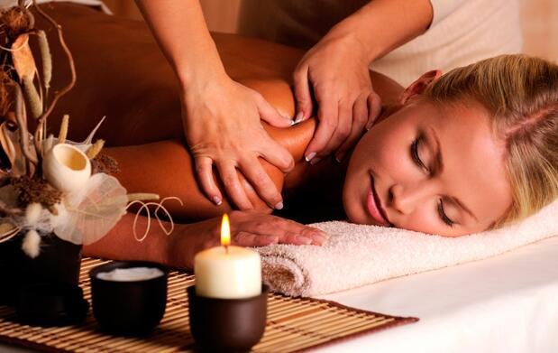 Relájate con un masaje