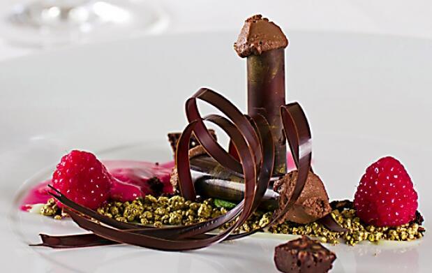 Un menú de lujo con estrella Michelin