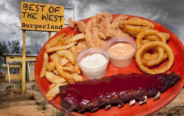 Menú para 2 en Burgerland
