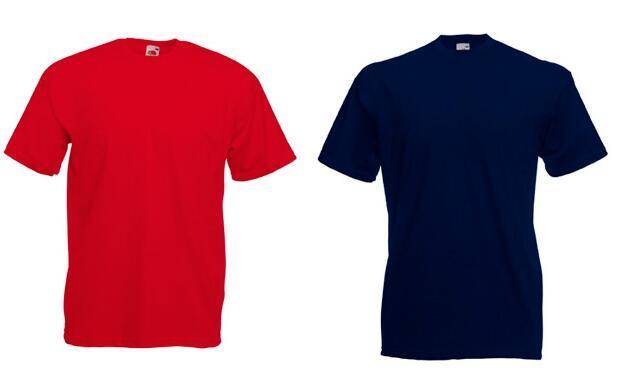 4 camisetas Fruit Of The Loom (Chico)