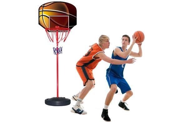 Canasta de baloncesto plegable