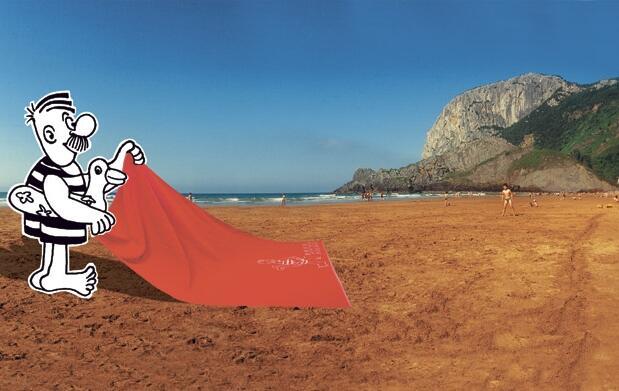 Toalla de playa Don Celes