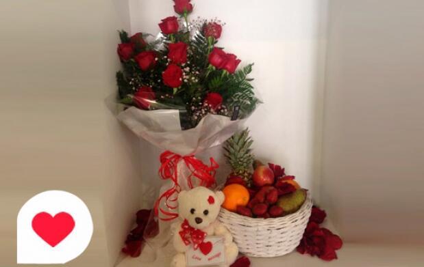 Pack romántico en Goya Floristas