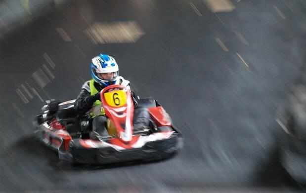 Libera adrenalina en el Karting