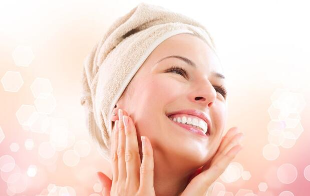 Limpieza facial con multifrecuencia