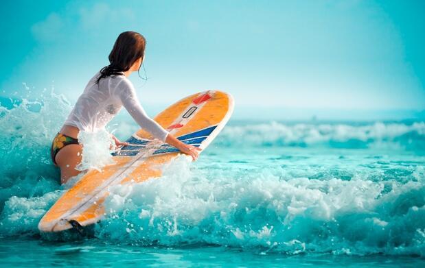 Fin de semana de surf en Bakio