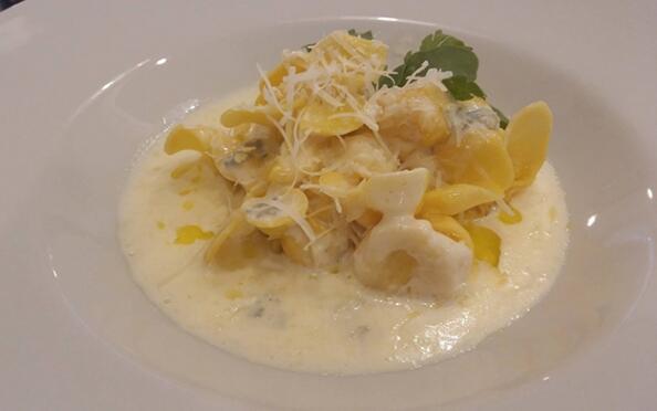 Exquisito menú italiano en Bilbao