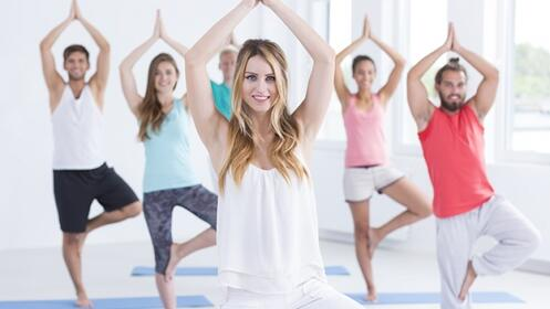 4 u 8 sesiones de yoga en Bilbao