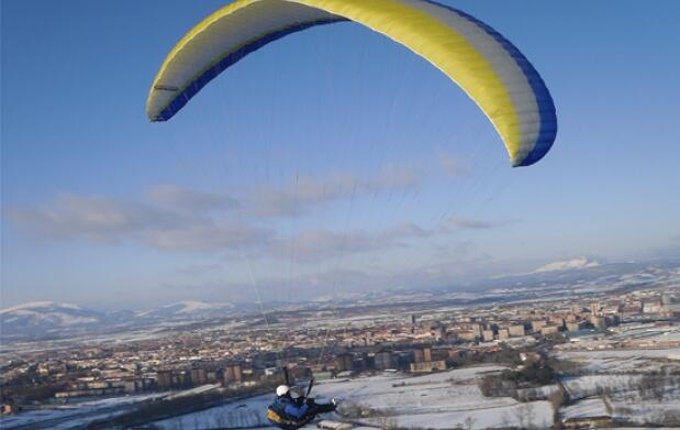 Vuelo biplaza en parapente y video